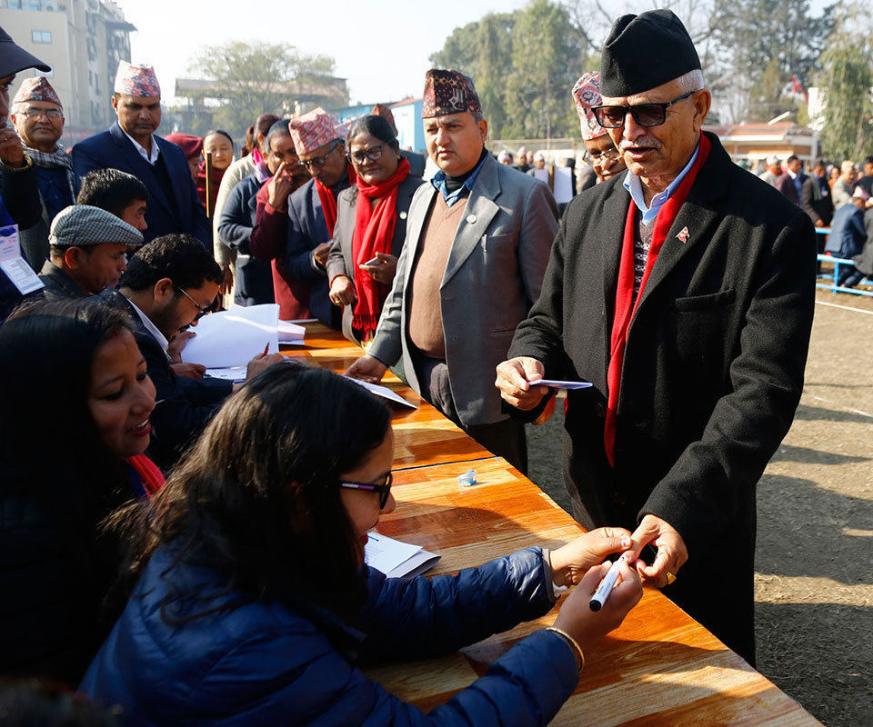 National Assembly elections underway (with photos)