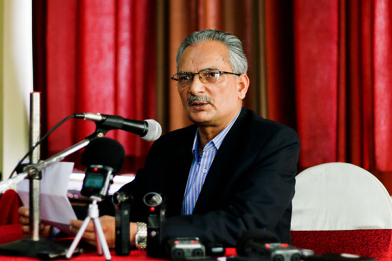Bhattarai calls on parties to unite