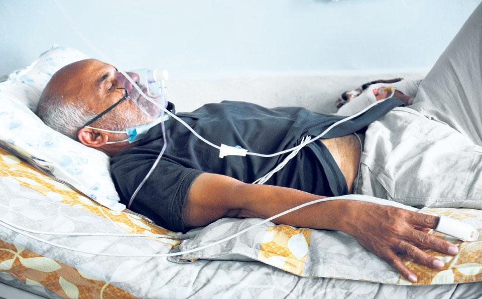 Dr KC's health deteriorating