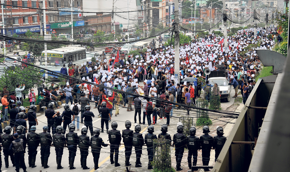 Hundreds march in Kathmandu in support of Dr. KC