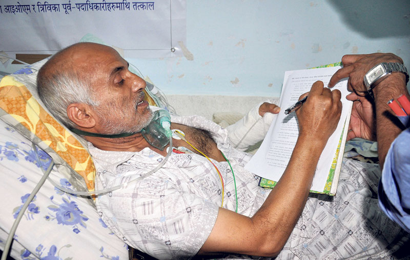 Govt team, Dr KC reach deal