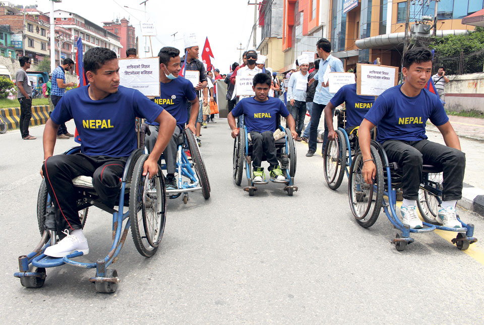 Hundreds stage rally in Kathmandu in support of Dr KC
