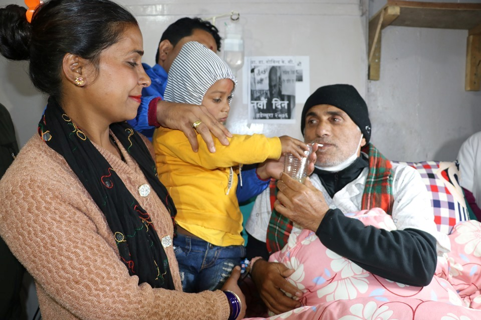 Dr KC suspends his 17th hunger strike