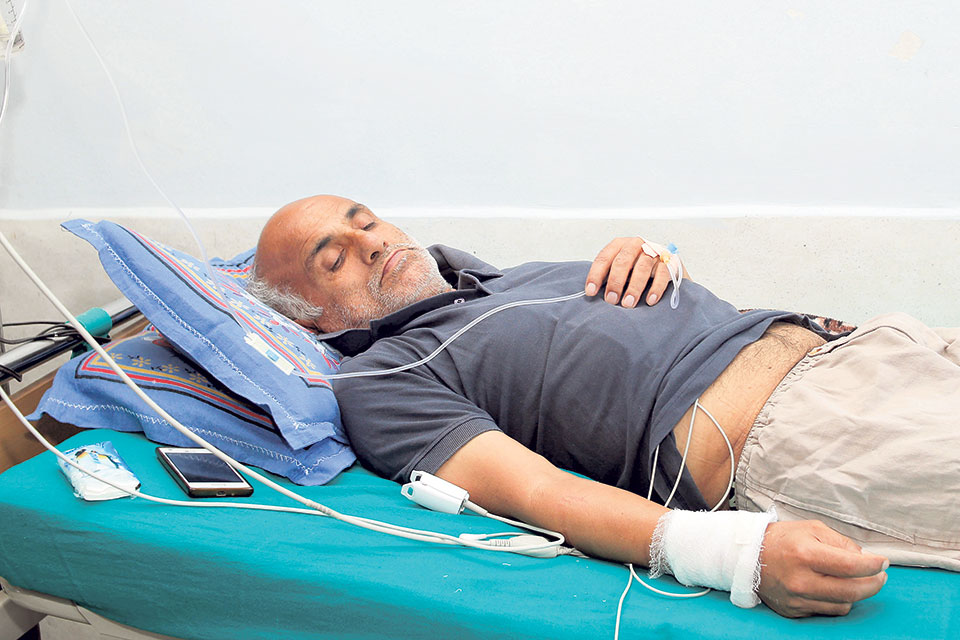 Dr KC's health condition deteriorating
