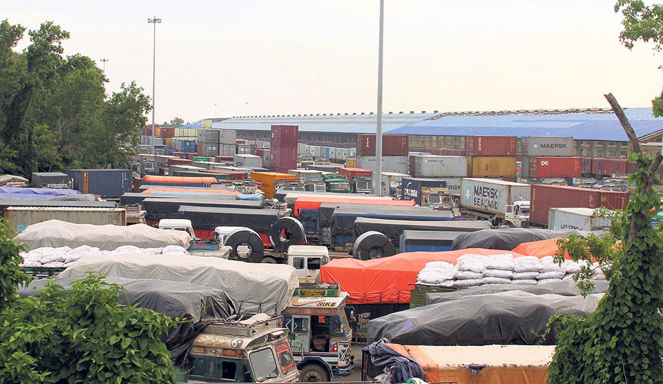 Railborne imports through dry port up 25 percent
