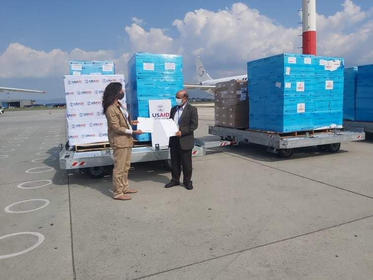 Nepal receives medical support from US