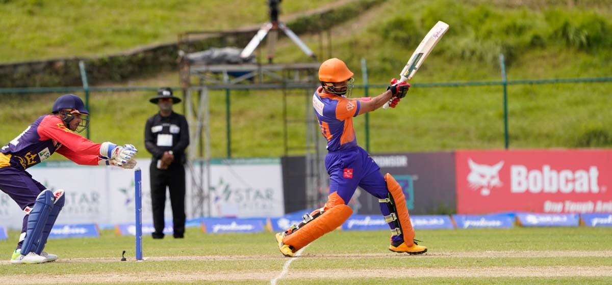 Biratnagar Warriors defeat Kathmandu Kings XI by seven runs