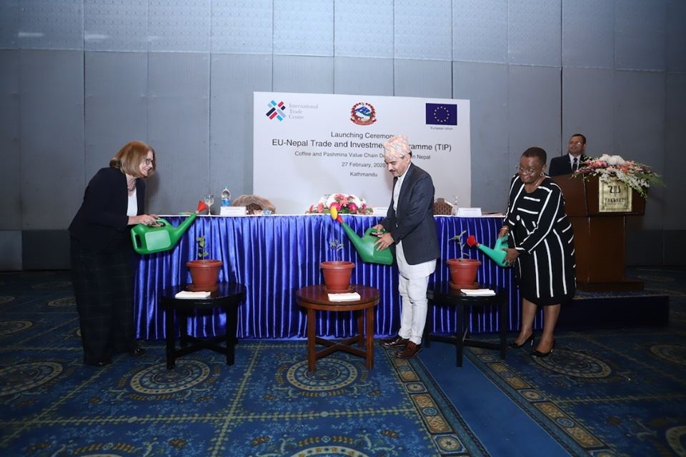 EU-Nepal Trade and Investment Program launched in Kathmandu