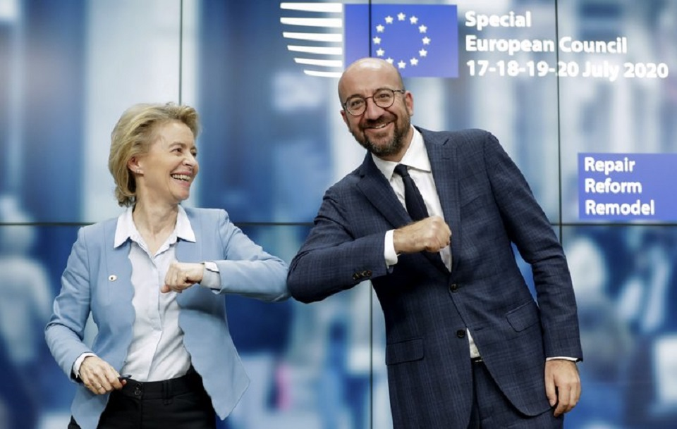 EU nations clinch $2.1T budget, virus aid deal after 4 days