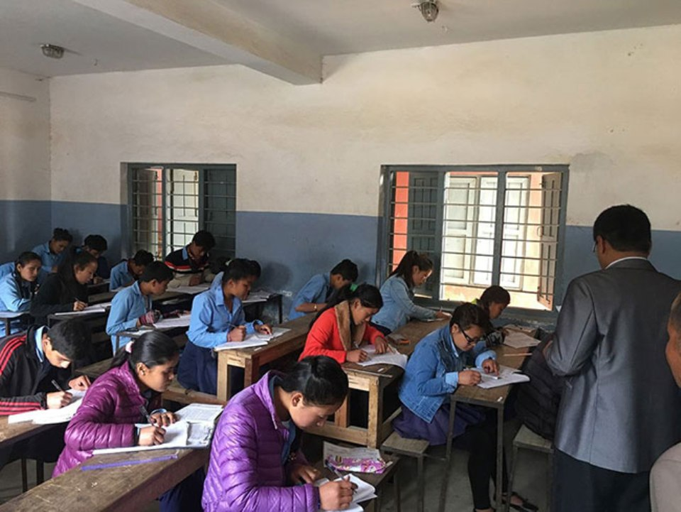 Grade XII examinations being held in the physical presence of students from today