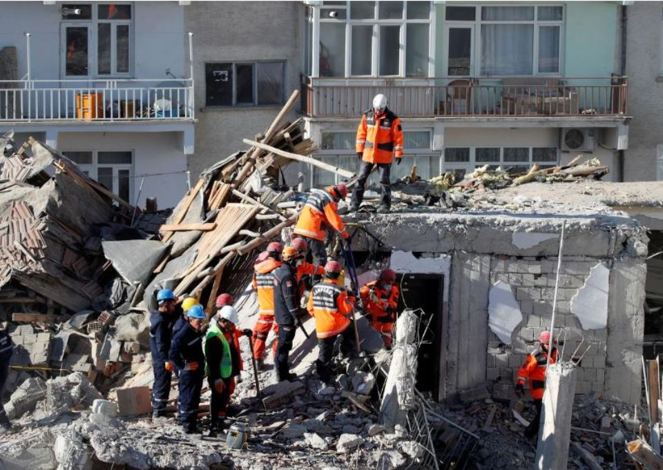 Rescuers pull dozens from rubble as Turkey quake death toll hits 31