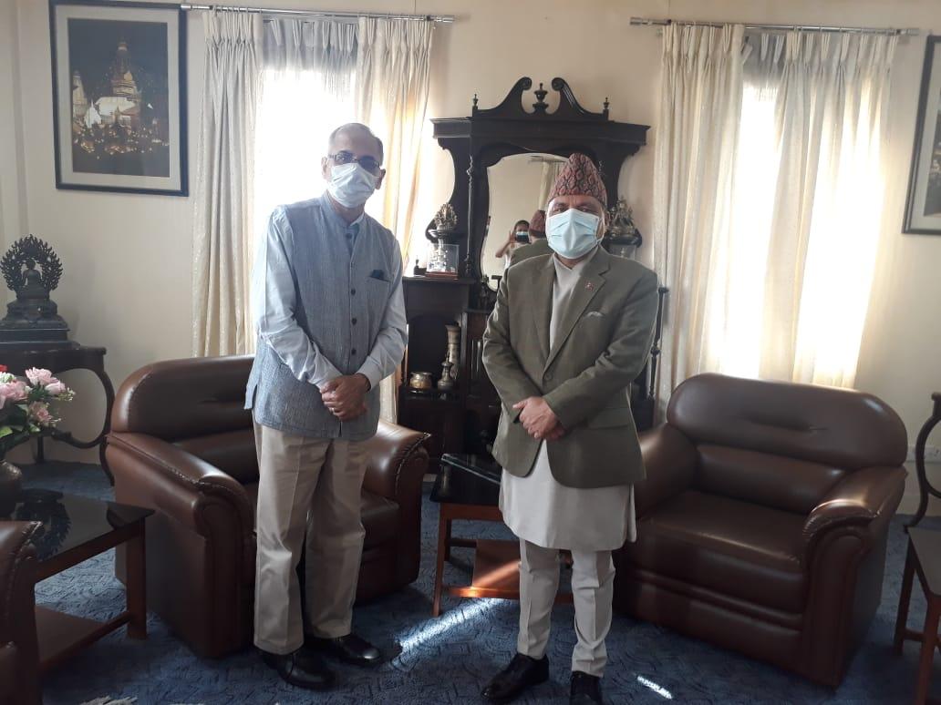 Indian Ambassador Kwatra calls on Foreign Secretary Paudyal