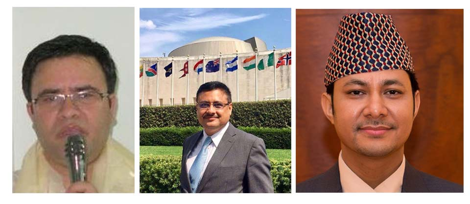 Three career diplomats picked as Nepal's envoys to Belgium, Pakistan and Germany