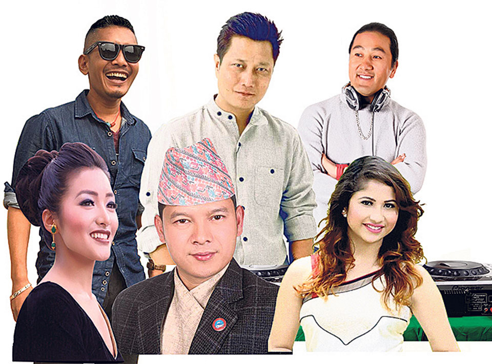 Concert at Namche Bazaar to mark Everest Day