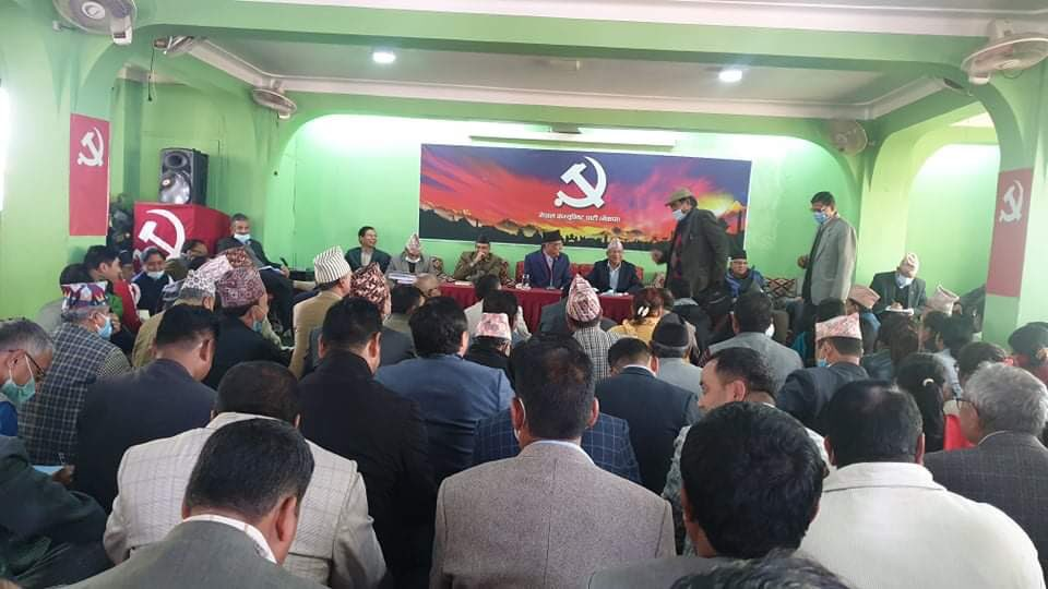 In a tit-for-tat move, NCP's Dahal-Nepal faction asks Nembang to resign from post of deputy parliamentary party leader