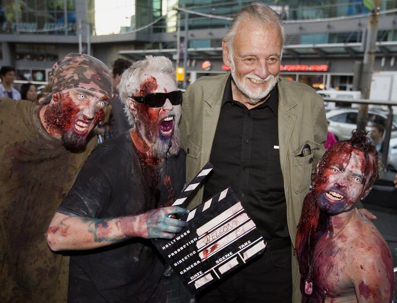 George A. Romero, father of the zombie film, is dead at 77