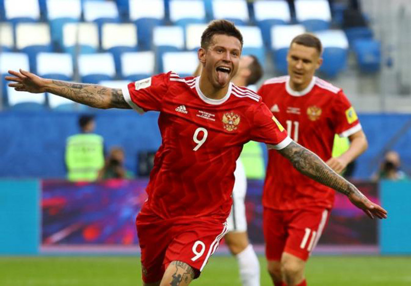 Hosts Russia see off New Zealand in Confederations Cup opener