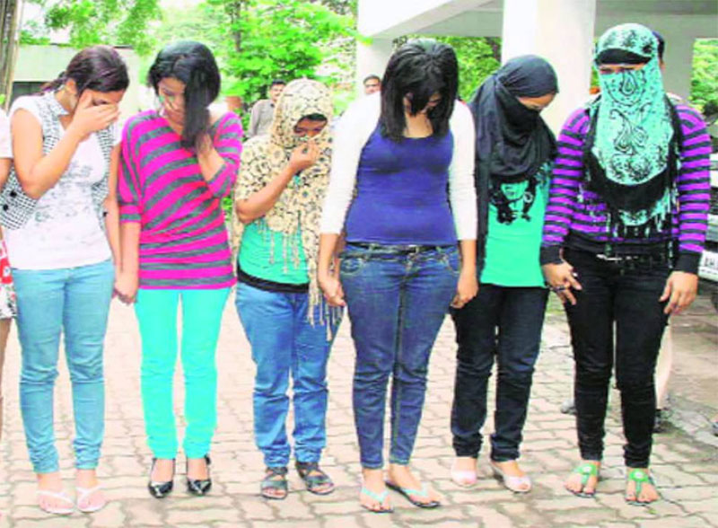 48 Indian nationals, 3 Nepalis held for 'flesh trade'