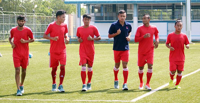 Poor finish cost Team Nepal against Timor Leste