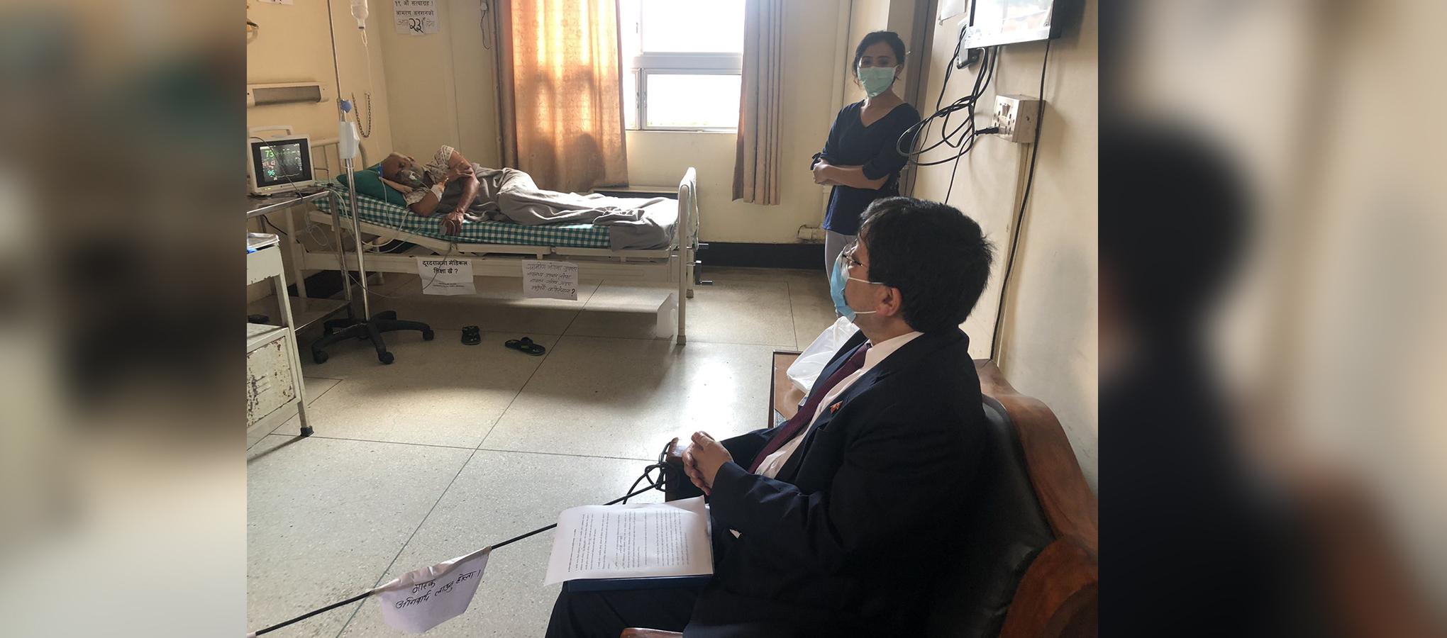 Govt team visits Dr Govinda KC