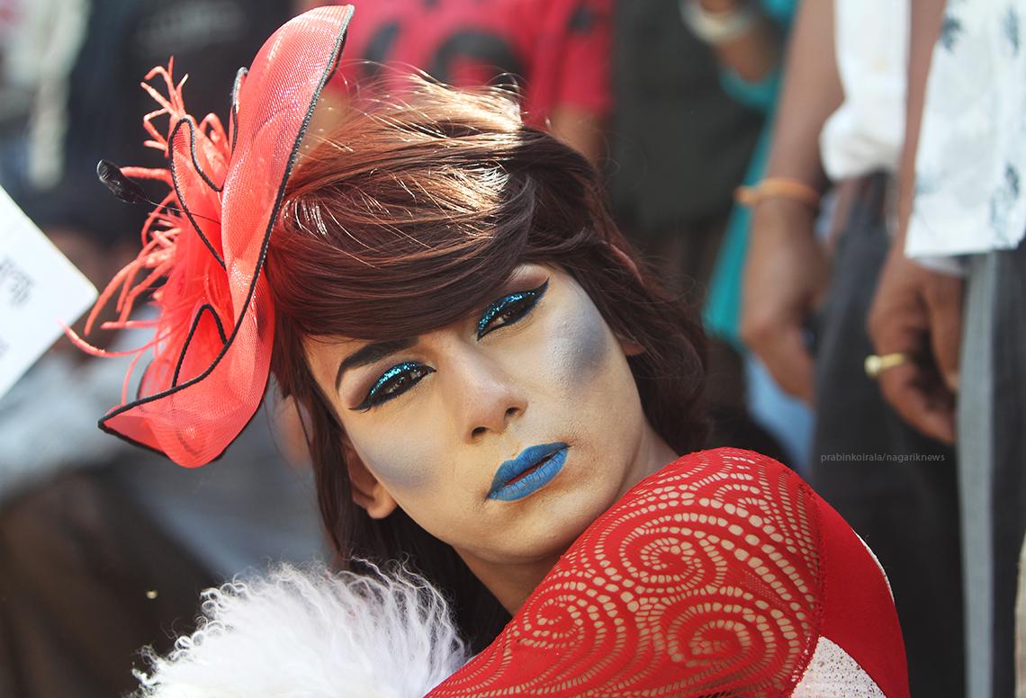 Some glimpses of Gaijatra festival 2016