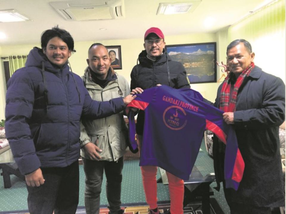 Gandaki cricketers paying their own expense for MM Cup
