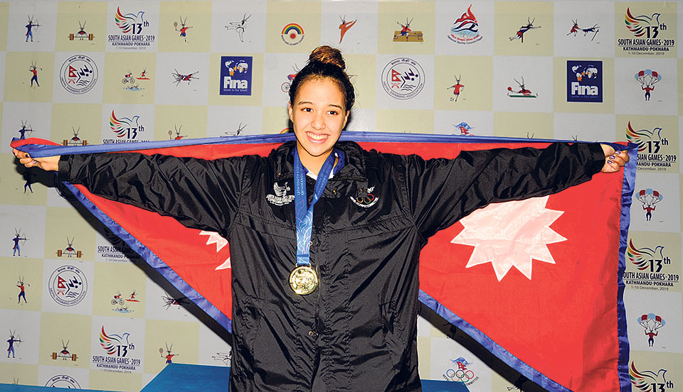 Gaurika, Nepal's most successful athlete in SAG