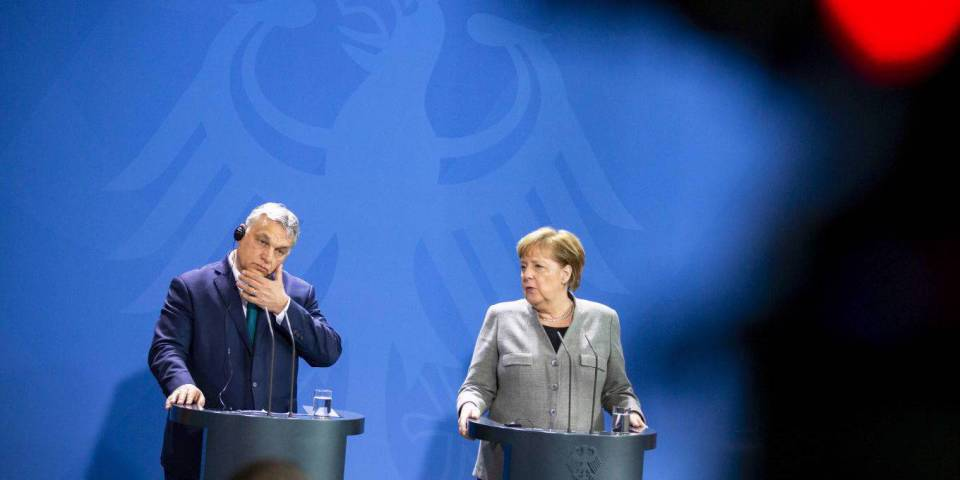 Costs of Merkel's surrender to Hungarian and Polish extortion