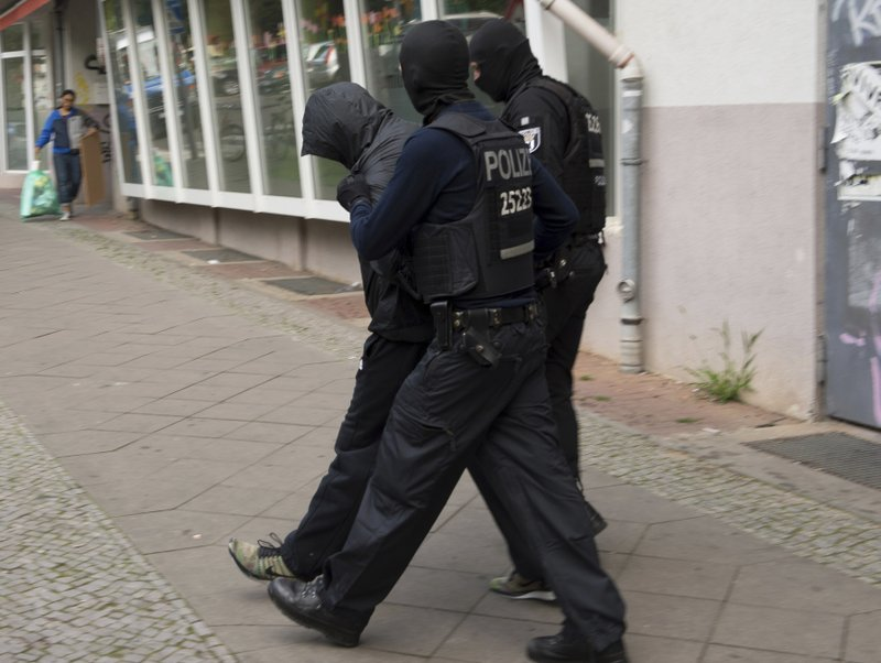 German police arrest 2 in brazen gold coin heist in Berlin