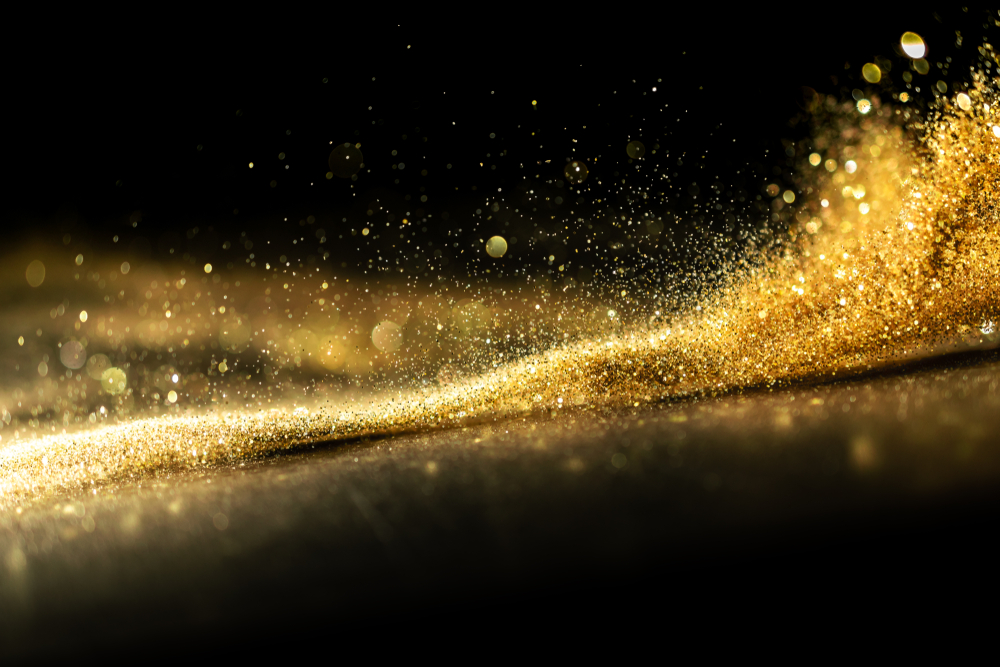 Life of gold and glitters