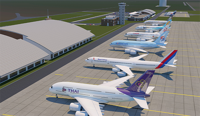 Minister directs to forward Pokhara int'l airport construction works