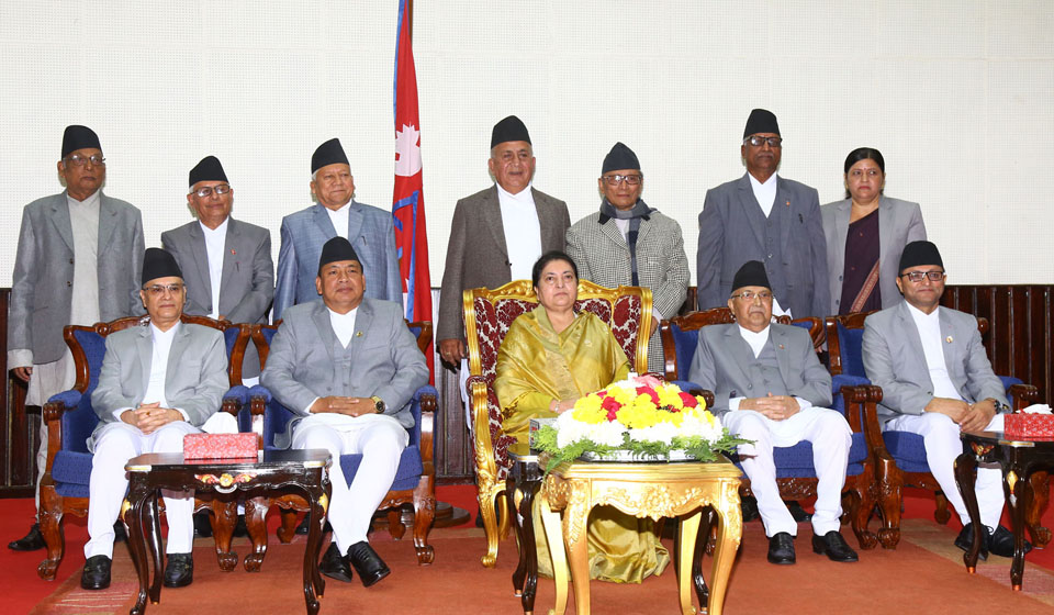 Newly-appointed governors take oath of office and secrecy