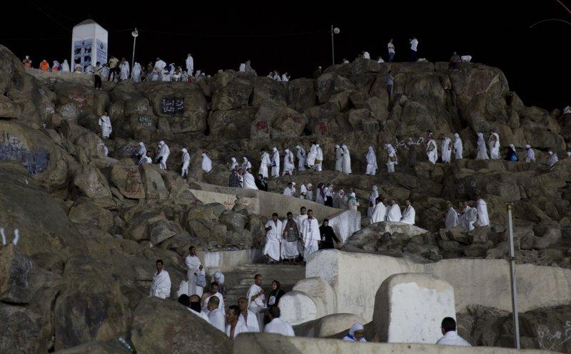 2 m Muslims gather near Mecca for peak of hajj pilgrimage