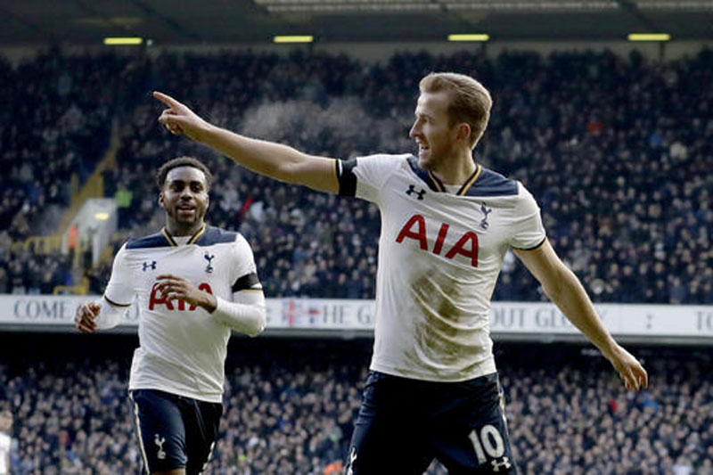 Kane scores a hattrick as Spurs beat West Brom