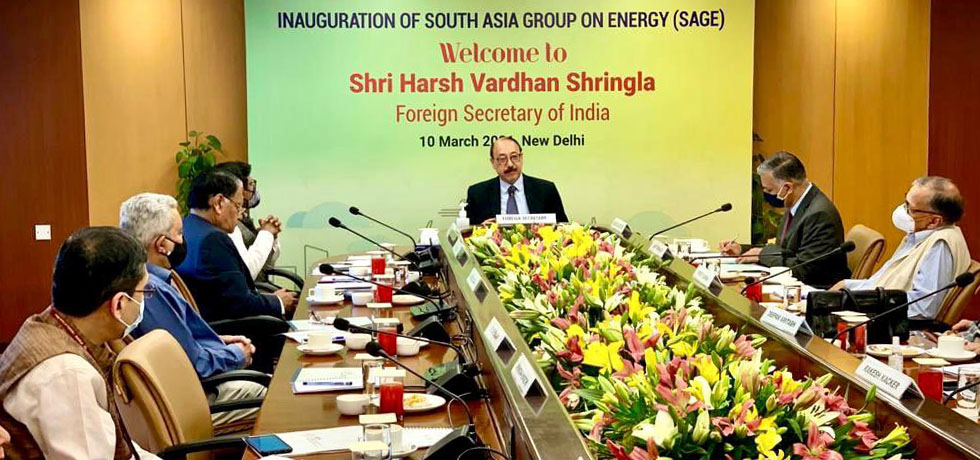 India working to promote sub-regional energy hub comprising Bhutan, Bangladesh, Nepal, Myanmar and India