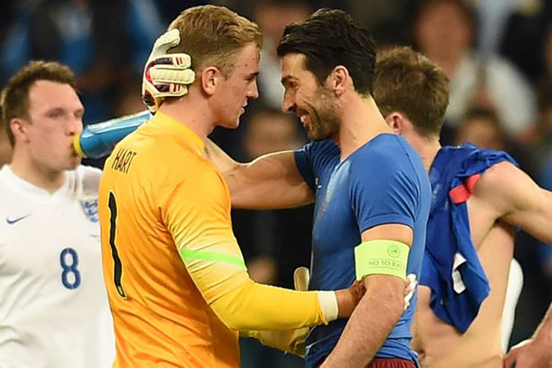 'A match for men': Turin derby isn't just Buffon vs. Hart