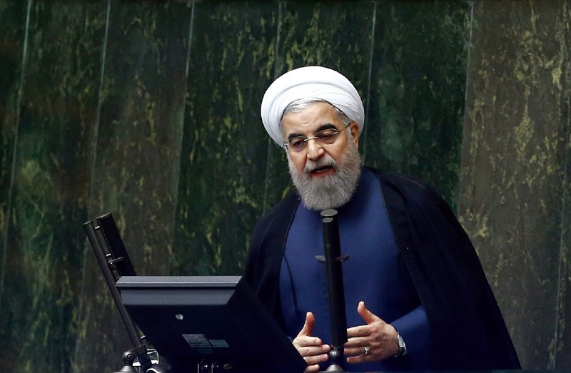 Iranian president Rouhani says Trump cannot reverse nuclear deal