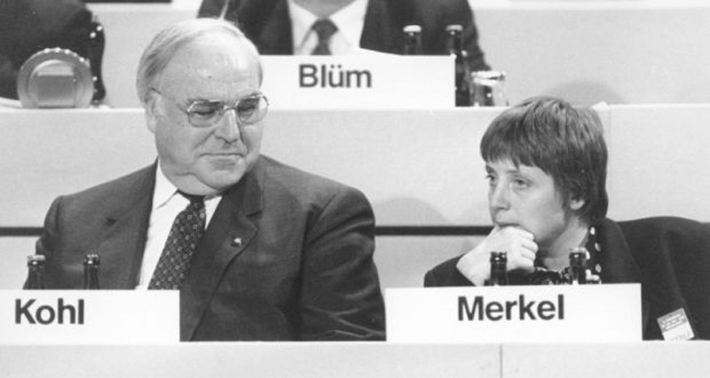 Infographics: Helmut Kohl- father of reunification