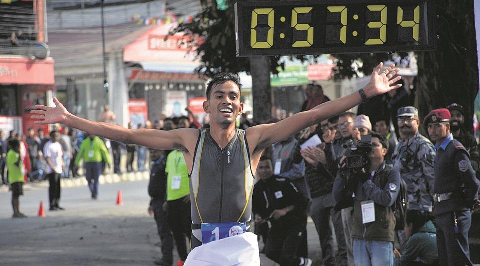 Tamata adds gold in triathlon
