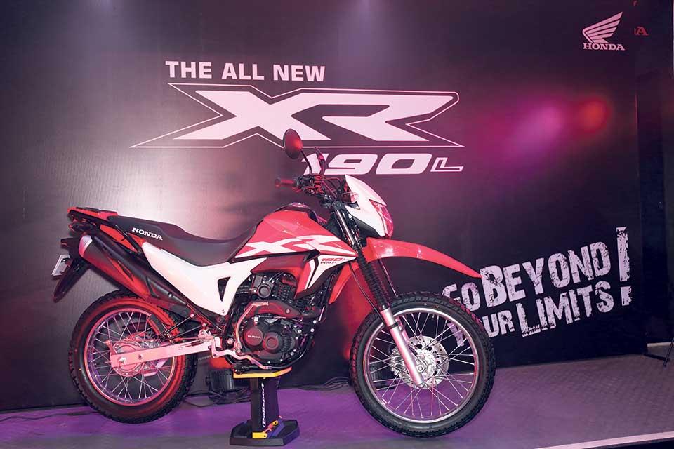 Honda Nepal introduces new brand XR 190 L