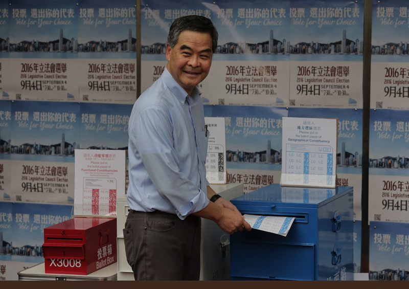 Voting gets underway in Hong Kong's crucial election