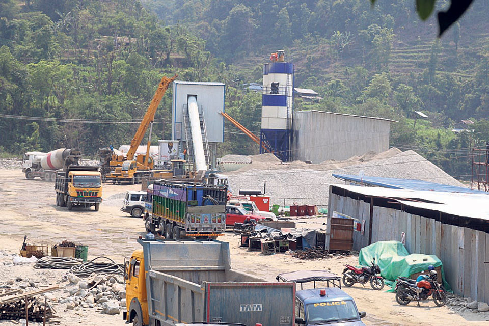 Construction of flood-hit cement factory starts