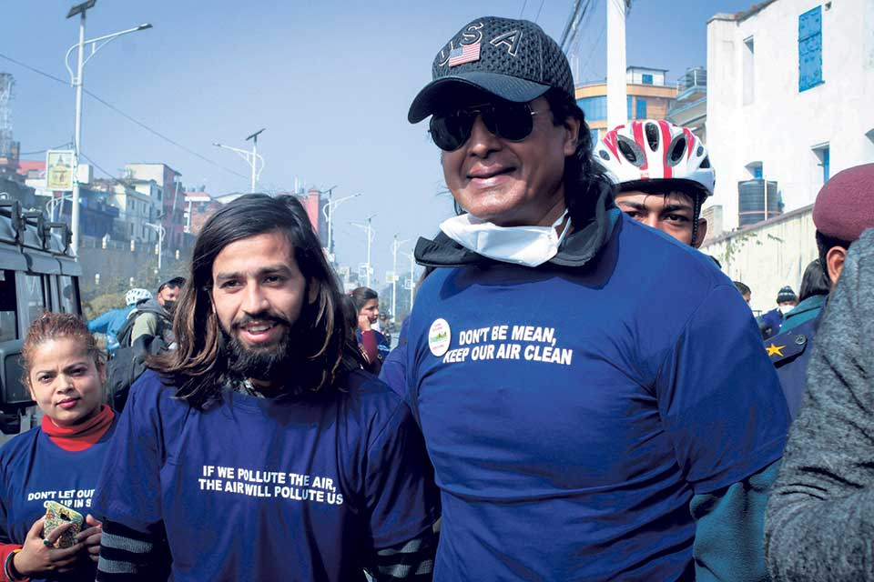 Cycle rally for a cause