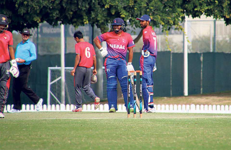 Malla's ton guides Nepal to second win over UAE