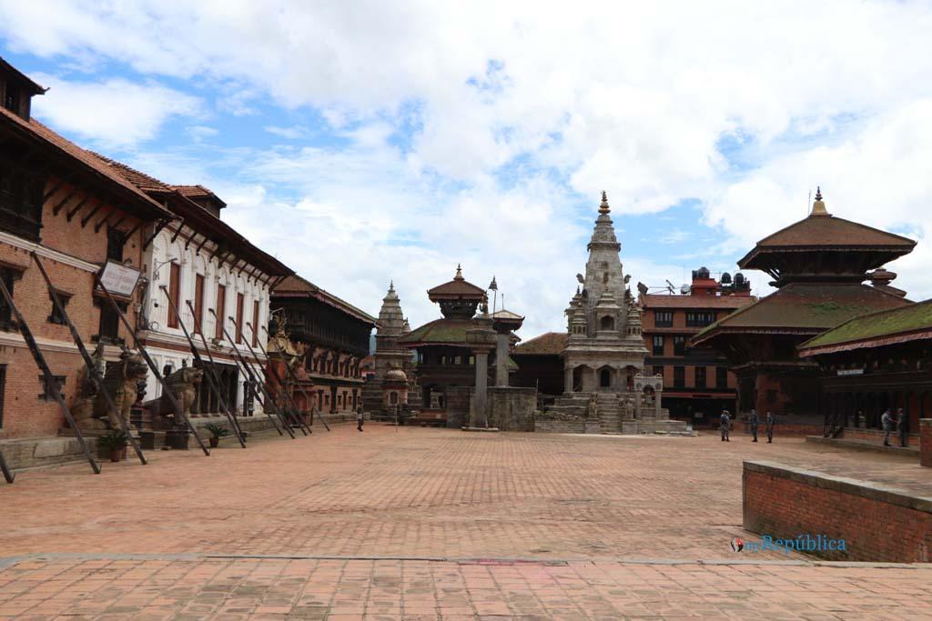 Lockdown in Bhaktapur (Photos)
