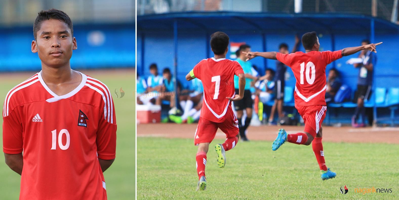 Brijesh brace keeps Nepal qualification chances alive (Photo Feature)