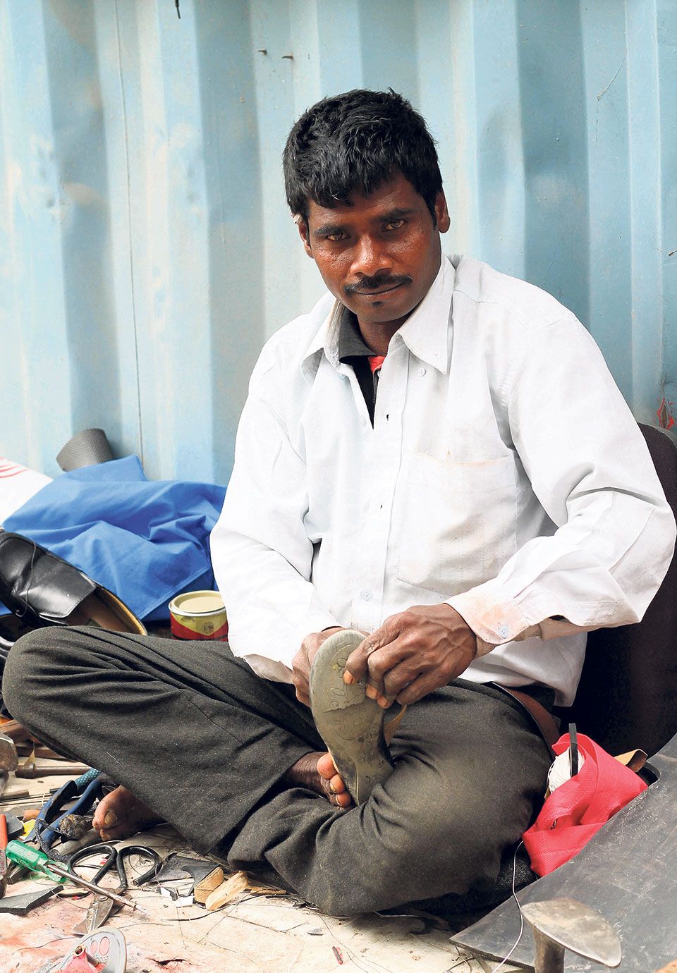 Souls of My City: Mending Soles