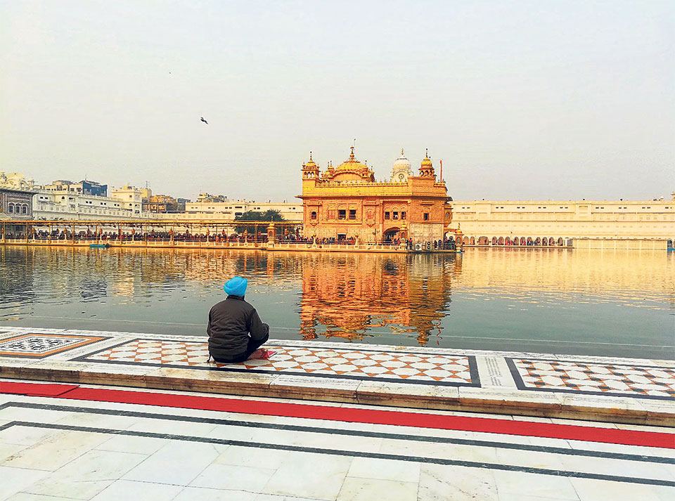 The Golden Temple and magical experience