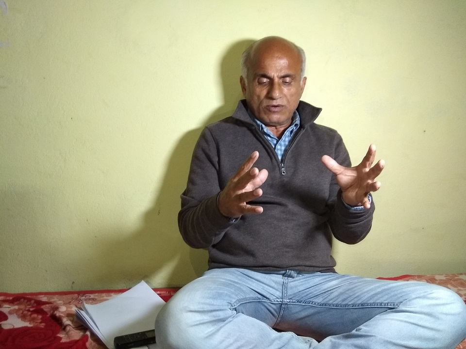 Dr KC starts 17th hunger strike