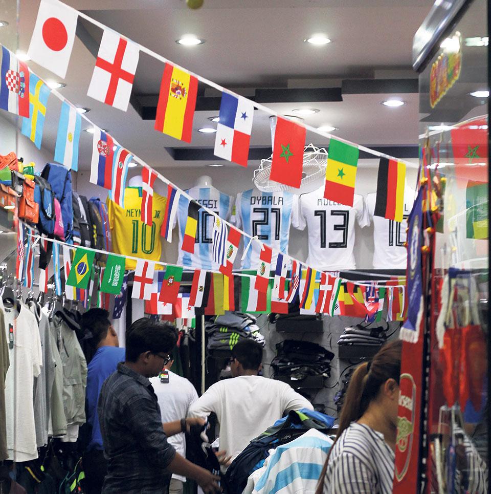 Kathmandu goes jersey Crazy